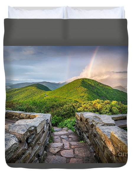 North Carolina Gold Duvet Cover