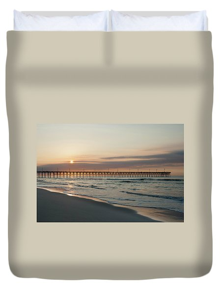 North Carolina Sunrise Duvet Cover