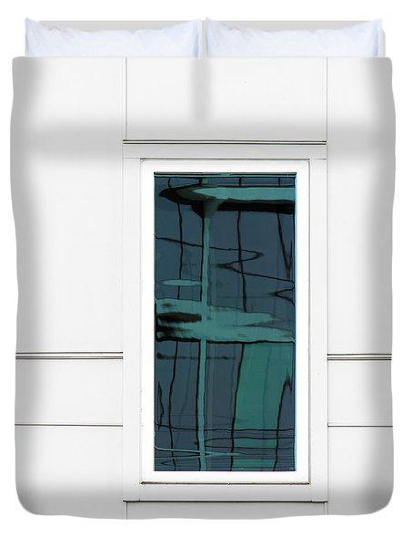 North Carolina Windows 2 Duvet Cover