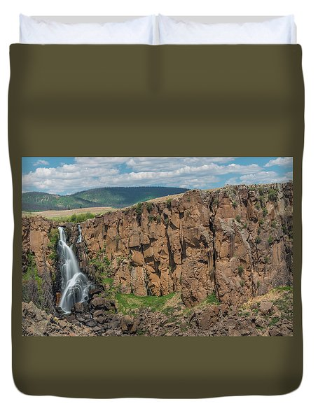 North Clear Creek Falls, Creede, Colorado 2 Duvet Cover
