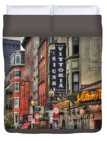 North End Charm 11x14 Duvet Cover