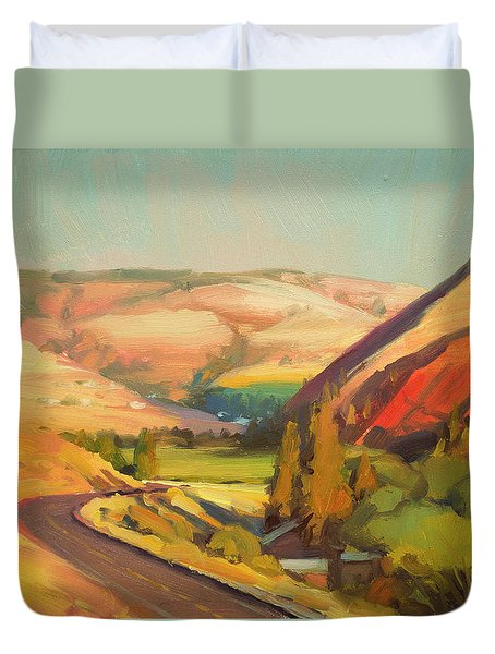 North Fork Touchet Duvet Cover