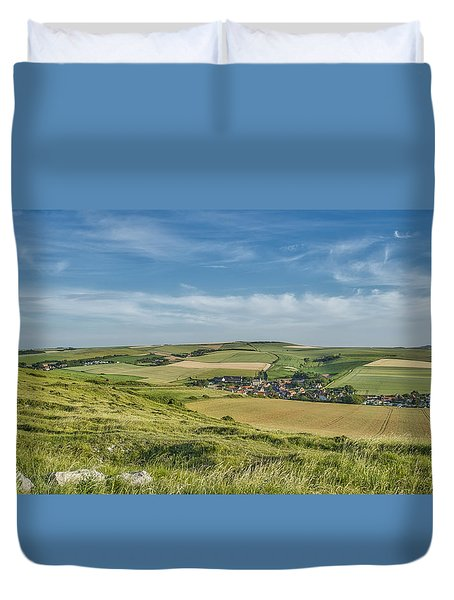 North French Scenery Duvet Cover