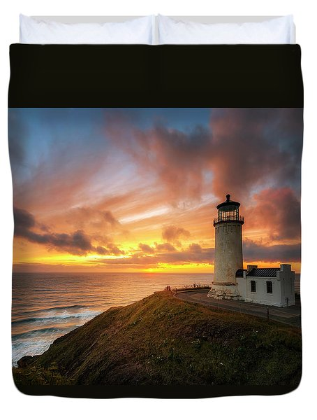 North Head Dreaming Duvet Cover by Ryan Manuel