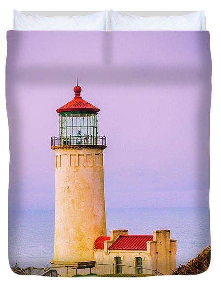 North Head Lighthouse Duvet Cover
