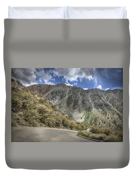 North Lake Road Duvet Cover