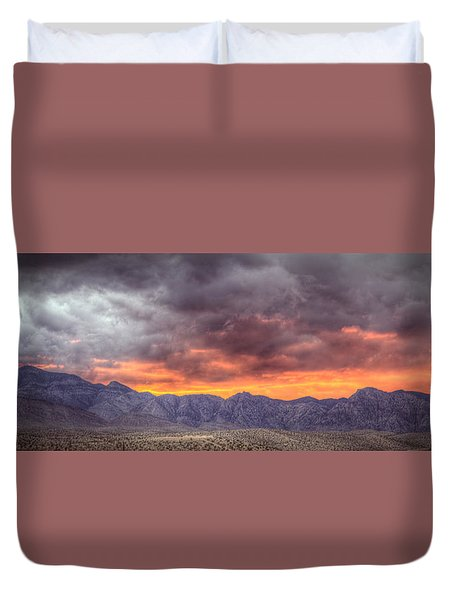 North Of Potosi Duvet Cover