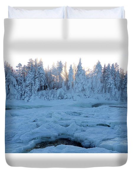 North Of Sweden Duvet Cover