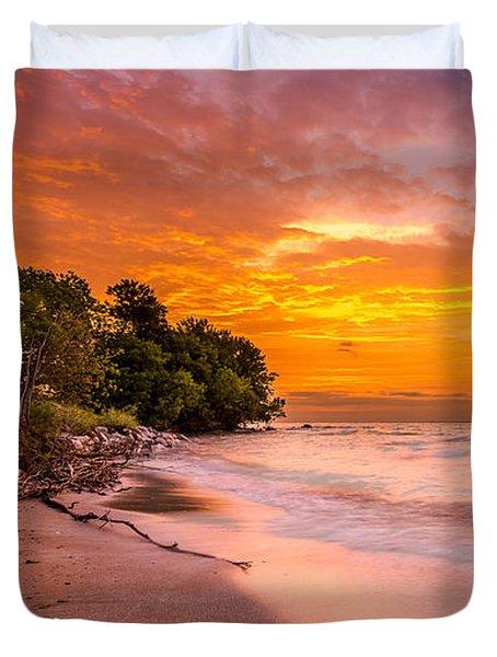 North Point Sunrise Duvet Cover