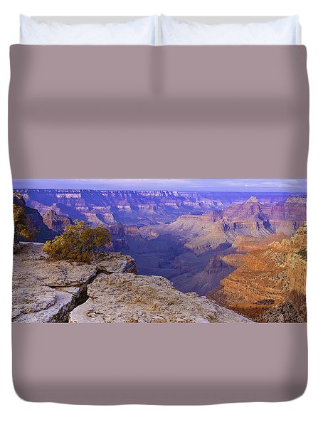 North Rim Grand Canyon Duvet Cover