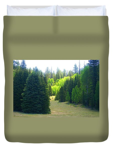 North Rim Landscapes Duvet Cover