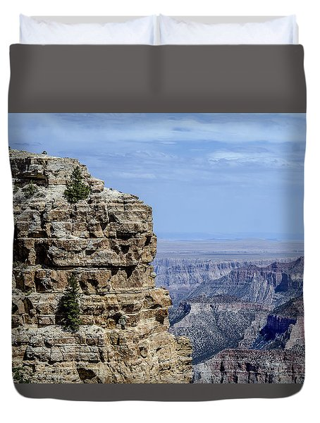 North Rim Layers Of Time Duvet Cover