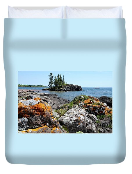 North Shore Beauty Duvet Cover