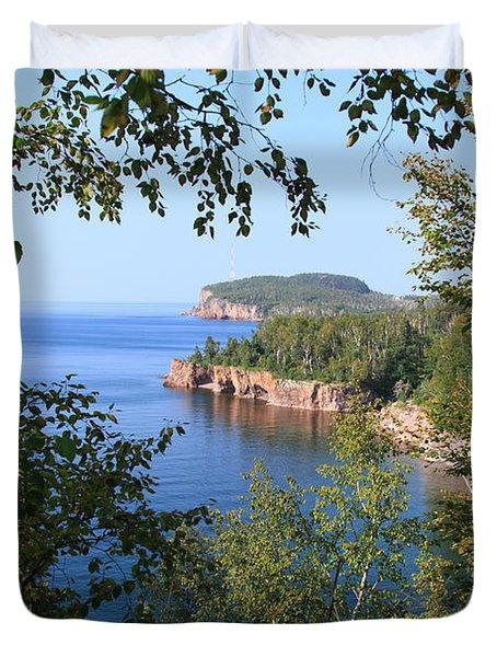 North Shore Lake Superior Duvet Cover