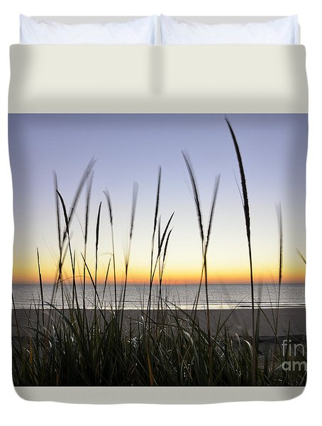 North Shore Sunrise Duvet Cover