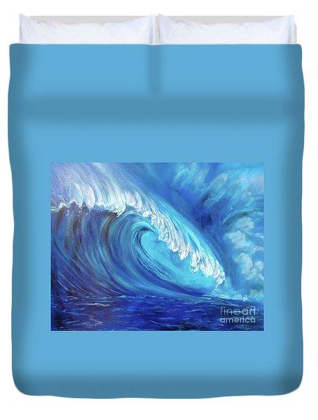 North Shore Wave Oahu 2 Duvet Cover