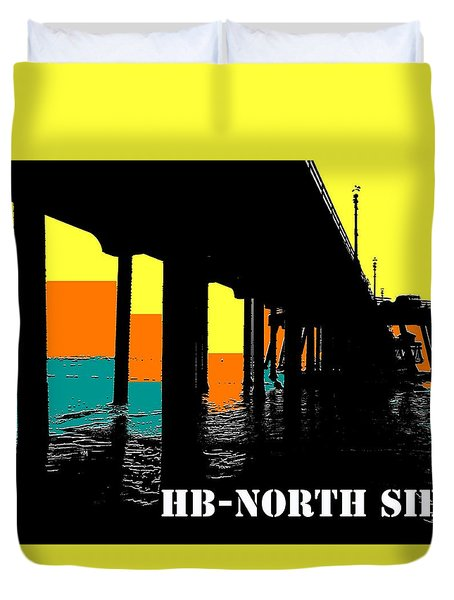 North Side Duvet Cover
