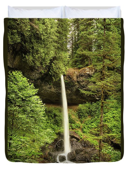 North Silver Falls Duvet Cover