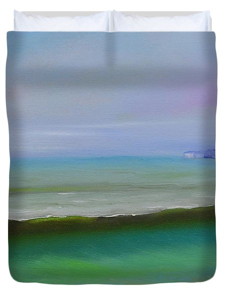 North To Dana Point Duvet Cover