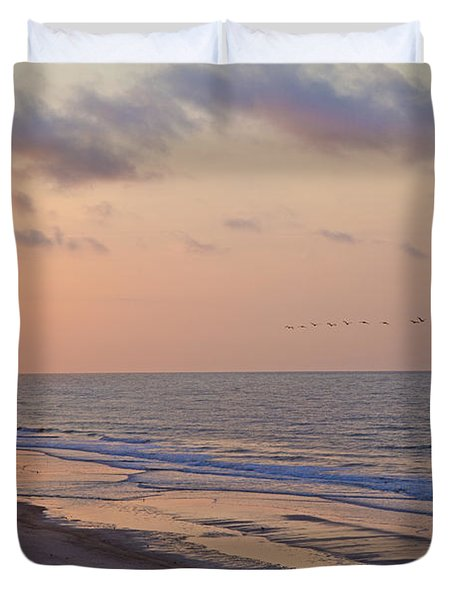 North Topsail Beach Glory Duvet Cover