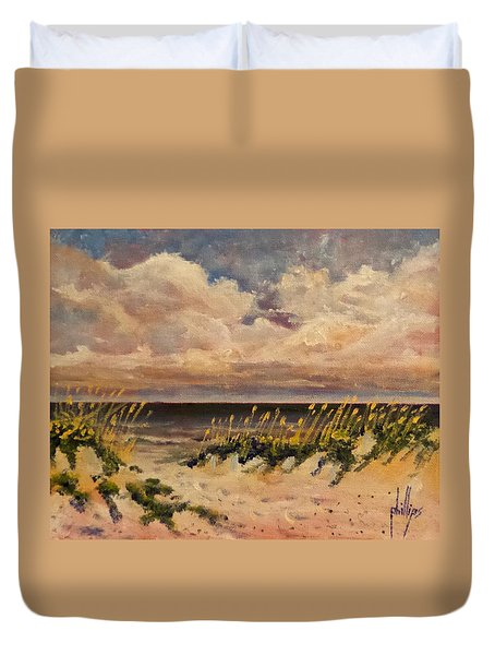 North Topsail Beach Duvet Cover