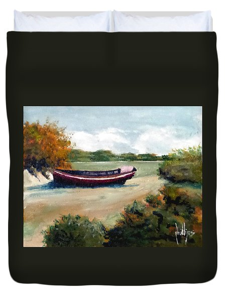 North Topsail Island Duvet Cover