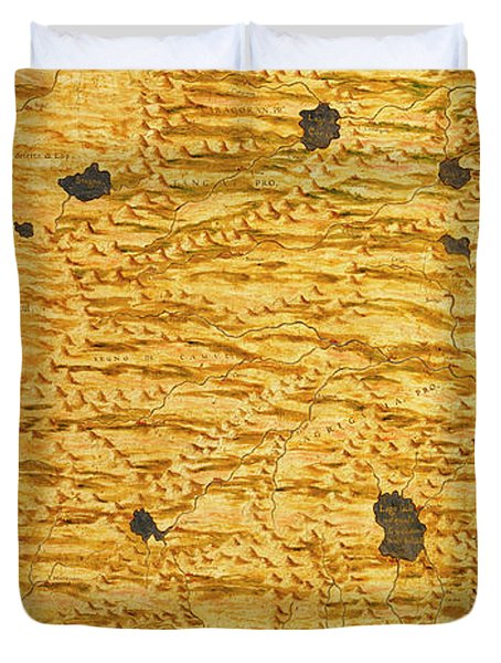 North-western India Duvet Cover