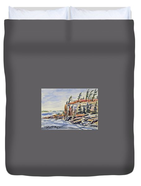 North Wind Duvet Cover by Heather Kertzer