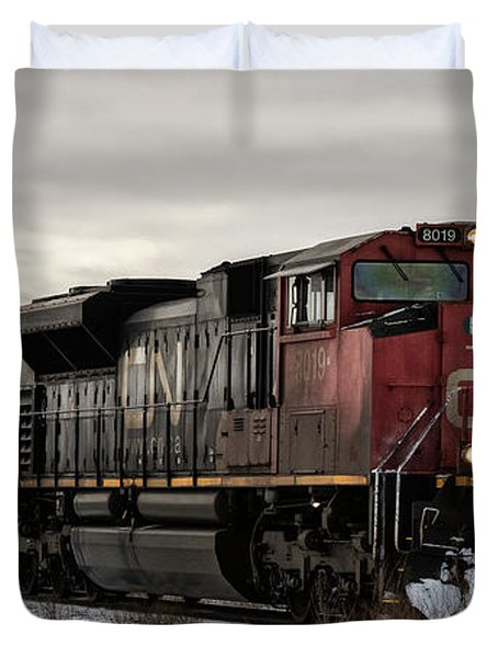 Northbound Double Stack Duvet Cover