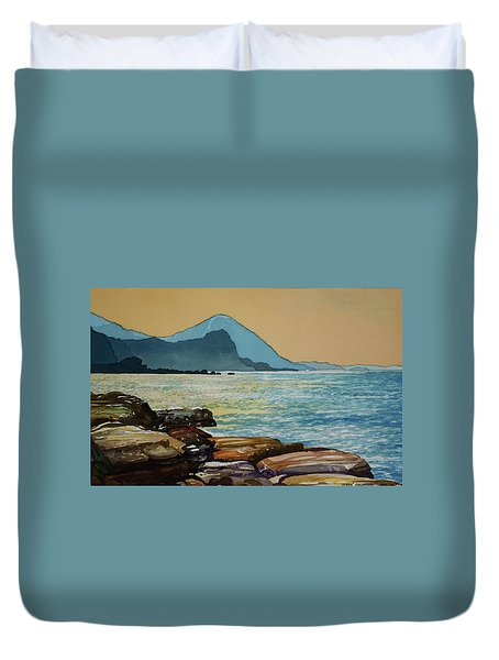 Northeast Coast Of Taiwan Duvet Cover
