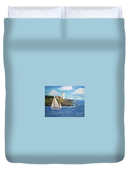 Northeast Coast Duvet Cover