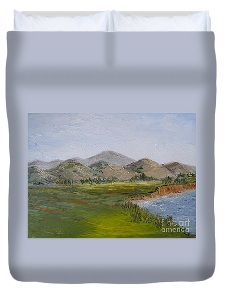 Northern California Coast Line Duvet Cover