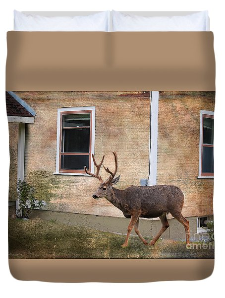 Northern Exposure Photo Paint Duvet Cover