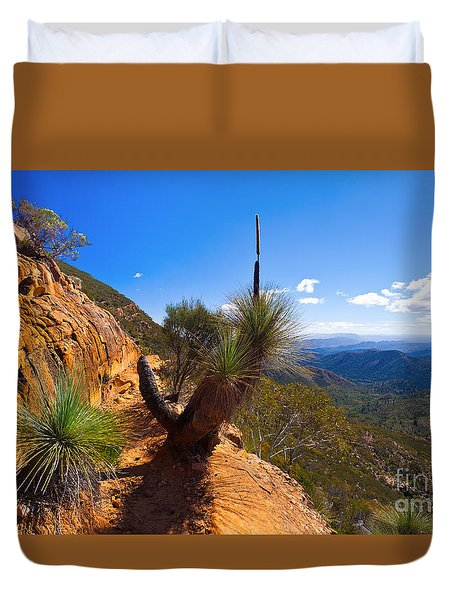Northern Flinders Ranges And The Abc Range Duvet Cover