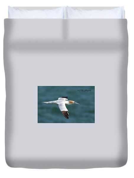 Northern Gannet Duvet Cover