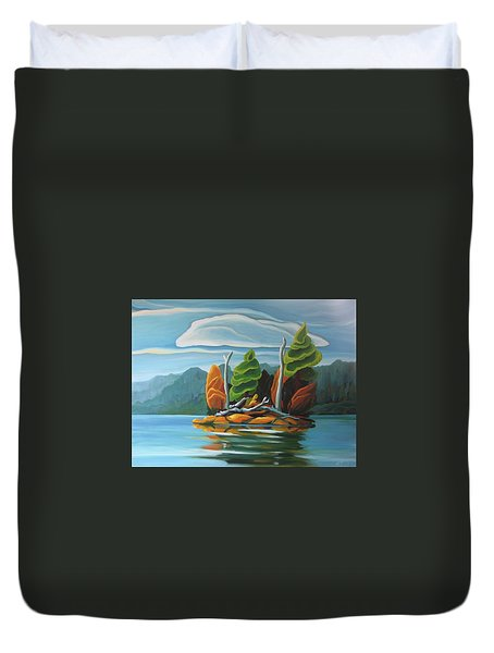 Northern Island Duvet Cover