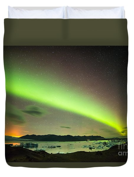 Northern Lights 6 Duvet Cover