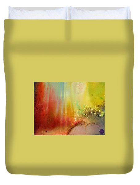Northern Lights # 1 Duvet Cover