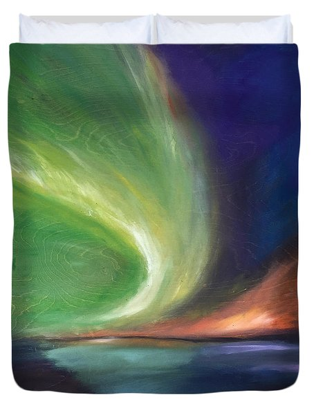Northern Lights Duvet Cover
