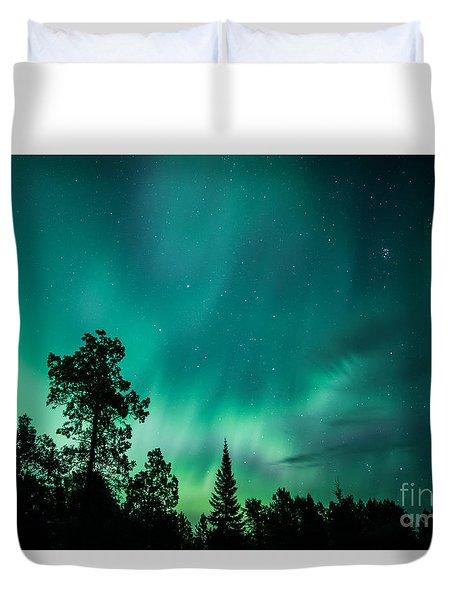 Northern Lights Tonight Duvet Cover