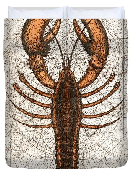 Northern Lobster Duvet Cover