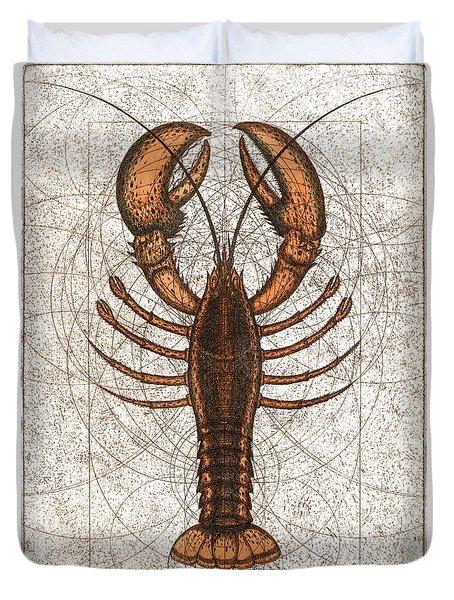 Northern Lobster Duvet Cover