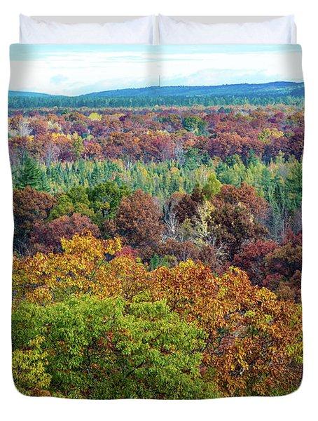 Northern Michigan Fall Duvet Cover
