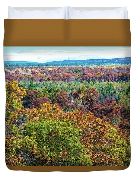 Northern Michigan Fall Duvet Cover
