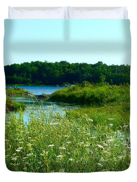 Northern Ontario 1 Duvet Cover