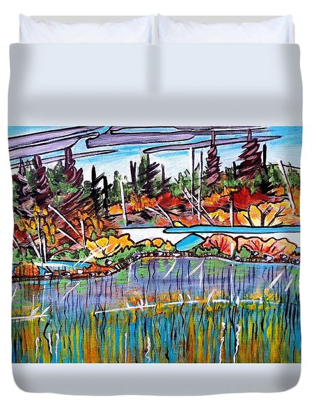Northern Reflections Duvet Cover