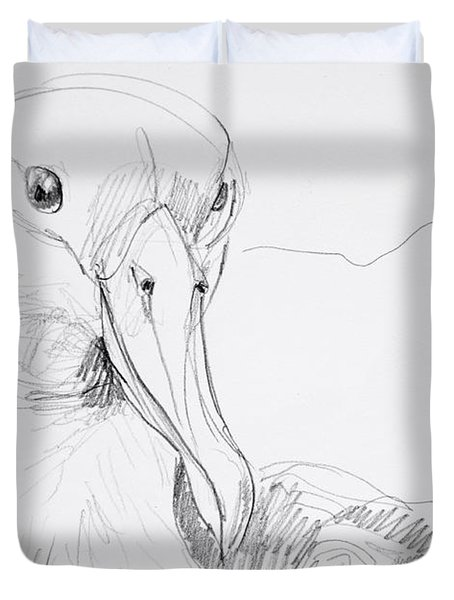 Northern Royal Albatross Duvet Cover