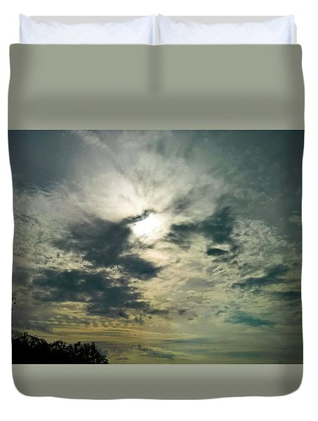 Northern Sky Duvet Cover
