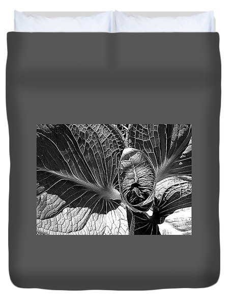 Northern Spring Herald Duvet Cover