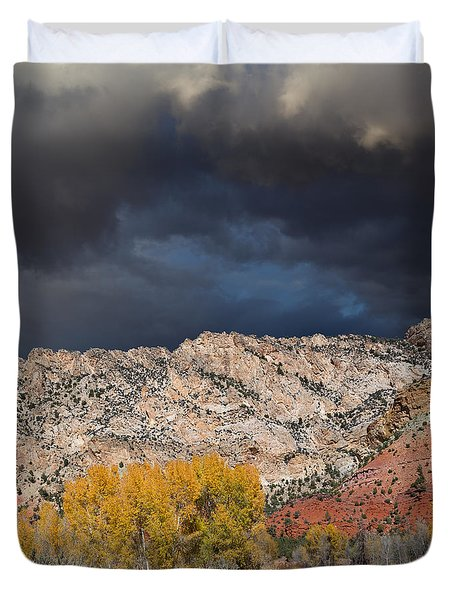 Northern Uintas Autumn Duvet Cover